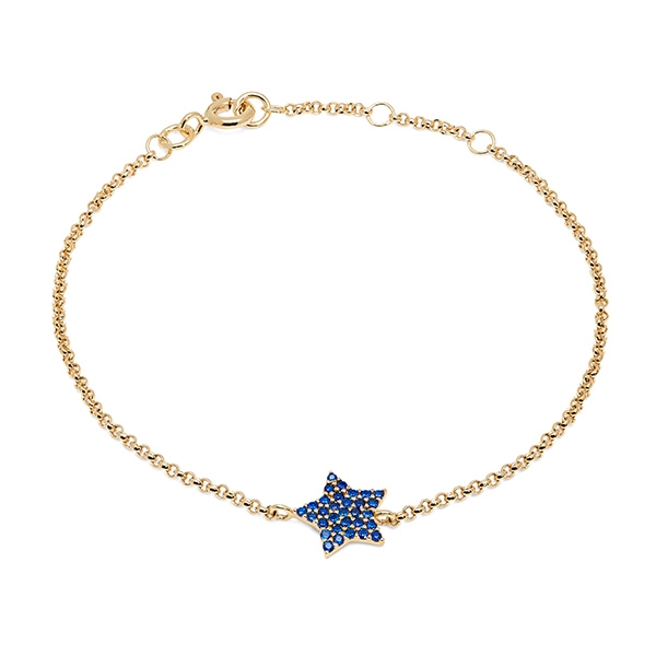 Philippa_Herbert_9kt_yellow_gold_chubby_star_bracelet_dark_blue