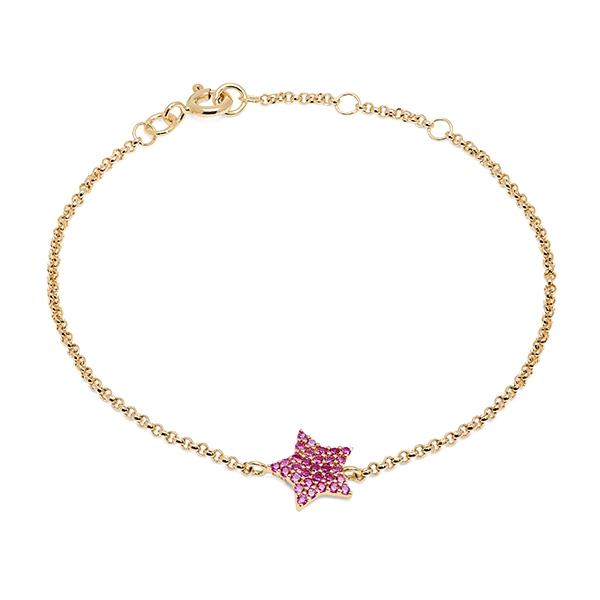 Philippa_Herbert_9kt_yellow_gold_chubby_star_bracelet_pink