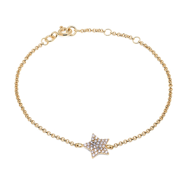 Philippa_Herbert_9kt_yellow_gold_chubby_star_bracelet_white