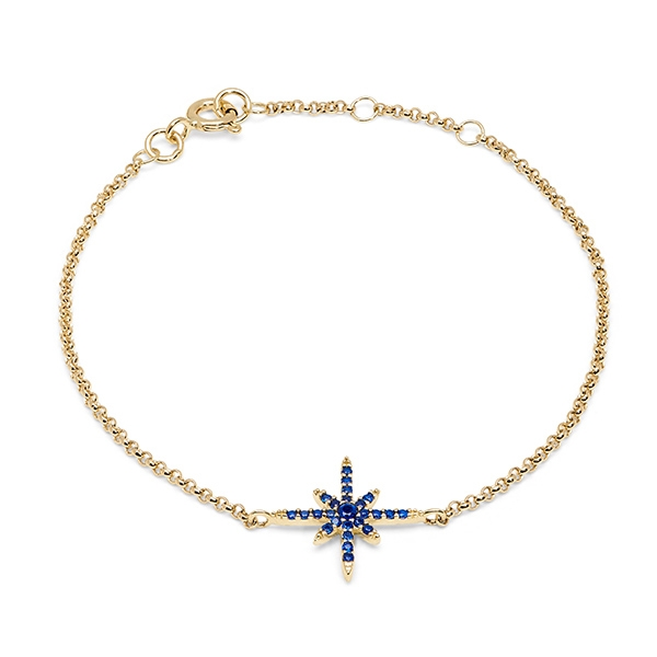 Philippa_Herbert_9kt_yellow_gold_north_star_bracelet_dark_blue