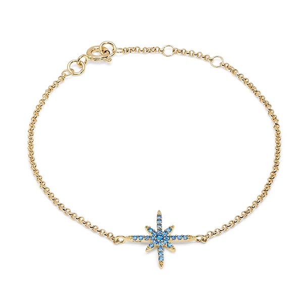 Philippa_Herbert_9kt_yellow_gold_north_star_bracelet_light_blue
