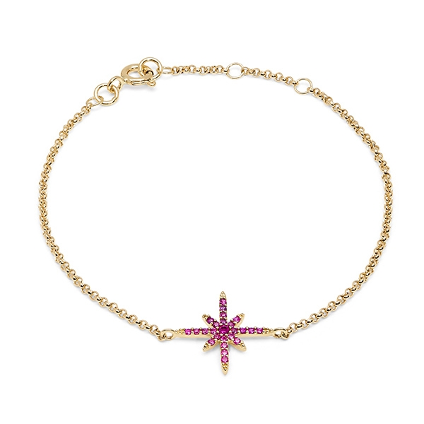 Philippa_Herbert_9kt_yellow_gold_north_star_bracelet_pink