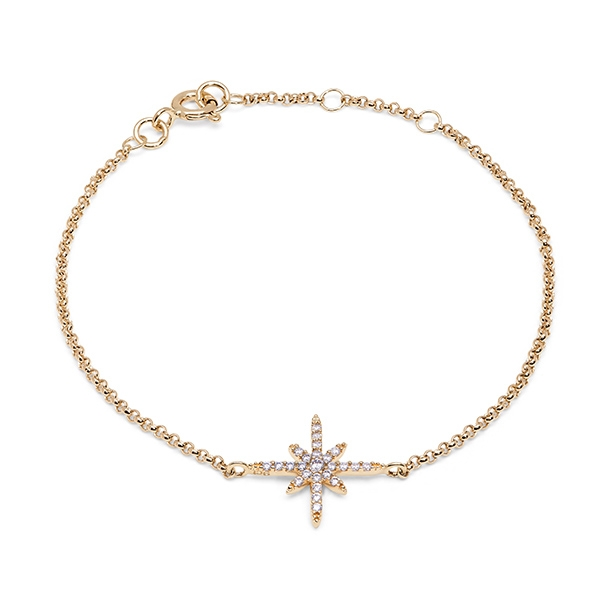 Philippa_Herbert_9kt_yellow_gold_north_star_bracelet_white