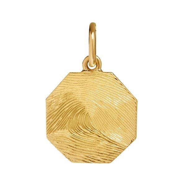 philippa-herbert-9kt-yellow-gold-15mm-octagon-charm-pendant-fingerprint-engraving-print-to-edge