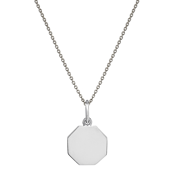 philippa-herbert-silver-18mm-octagon-charm-pendant-on-chain-no-engraving-plain-600x600