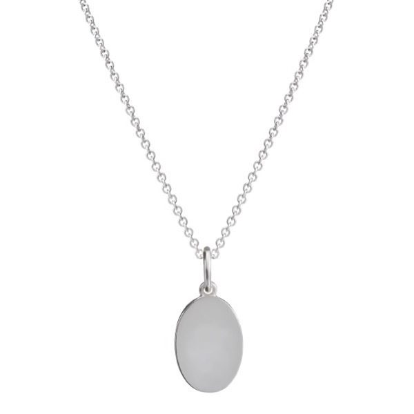 philippa-herbert-silver-oval-charm-pendant-on-chain-no-engraving-plain