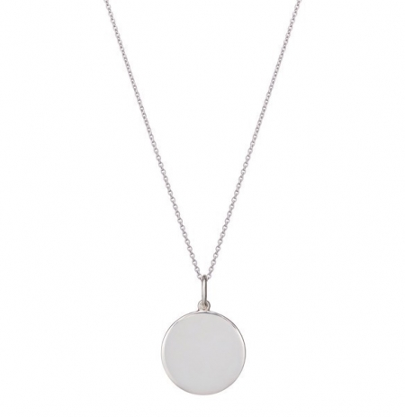 philippa_herbert_9kt_white_gold_disc_charm_on_chain_necklace_unengraved
