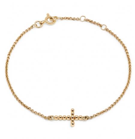 Bobble Cross Bracelets