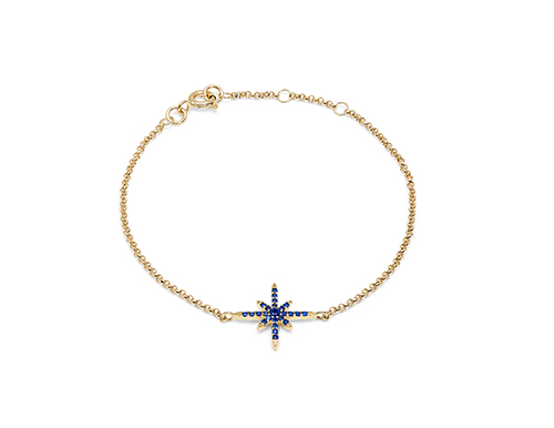 Philippa Herbert Blue- North Star Bracelet