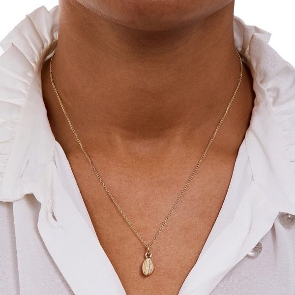 Philippa-Herbert-Charm-Cowrie Shell-Gold