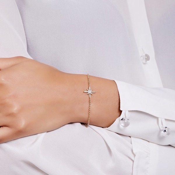 Philippa-Herbert-North Star-Bracelet-White Sapphire