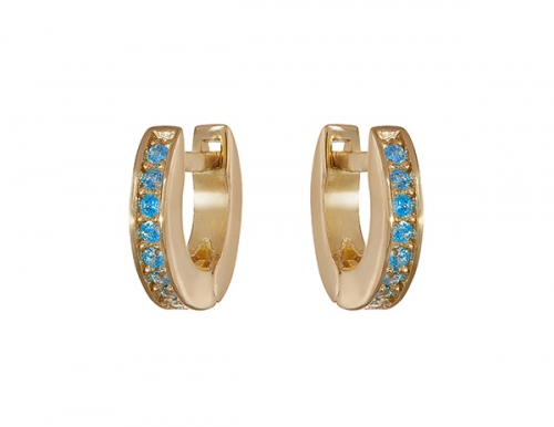 Philippa_Herbert_Huggies_light-blue_Earrings_Alexandra_Felstead