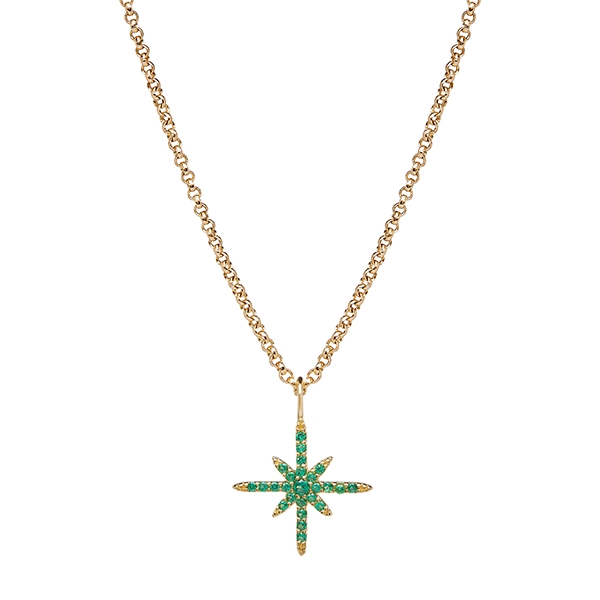philippa-herbert-9kt-yellow-gold-north-star-necklace-green-2