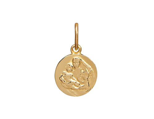Philippa-Herbert-alexandra-felstead-Necklace-Charm-Mother-and-Child-Charm-Yellow-Gold