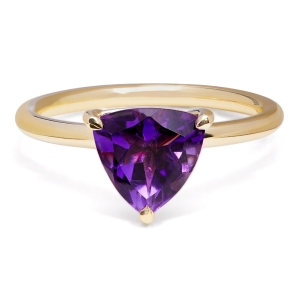 philippa-herbert-alexandra-felstead-cocktail-ring-9kt-yellow-gold-dark-purple-amethyst-trillion-cut
