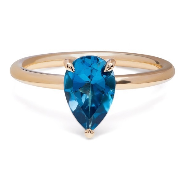 philippa-herbert-alexandra-felstead-cocktail-ring-9kt-yellow-gold-london-blue-topaz-pear-cut