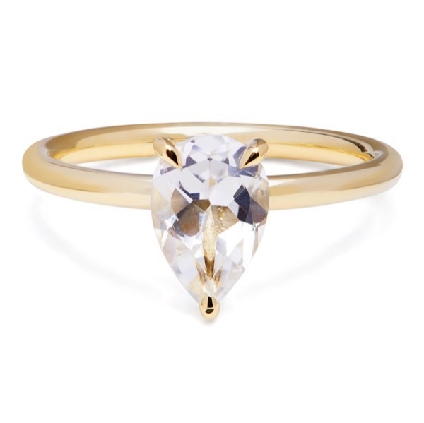 philippa-herbert-alexandra-felstead-cocktail-ring-9kt-yellow-gold-white-topaz-pear-cut