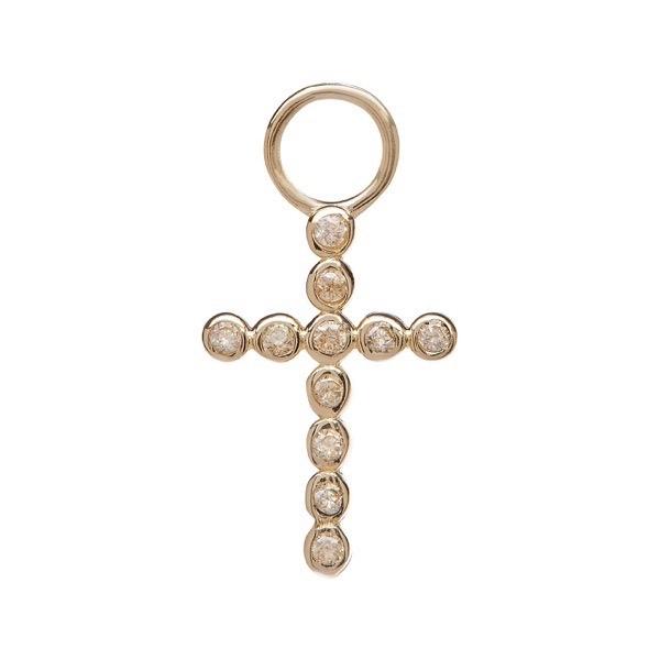 philippa-herbert-alexandra-felstead-earring-drop-9kt-yellow-gold-bobble-cross-yellow-sapphire
