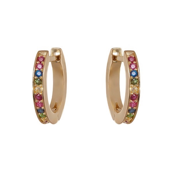 philippa-herbert-alexandra-felstead-hoop-earrings-9kt-yellow-gold-rainbow