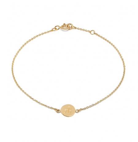 Alexandra Felstead Initial Bracelet
