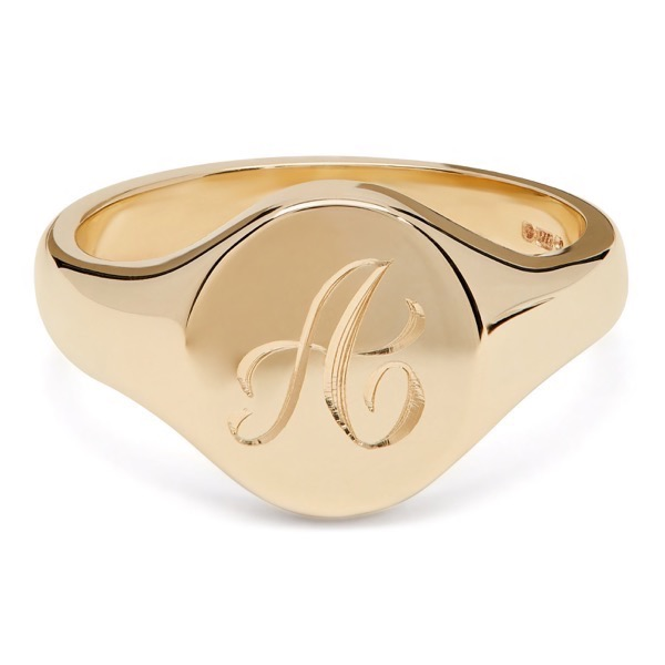 Personalize Initial Ring Letter X Ring Alphabet Ring Gold Initial Ring Custom Initial Ring Monogram Ring Name Ring Signet Letter Ring