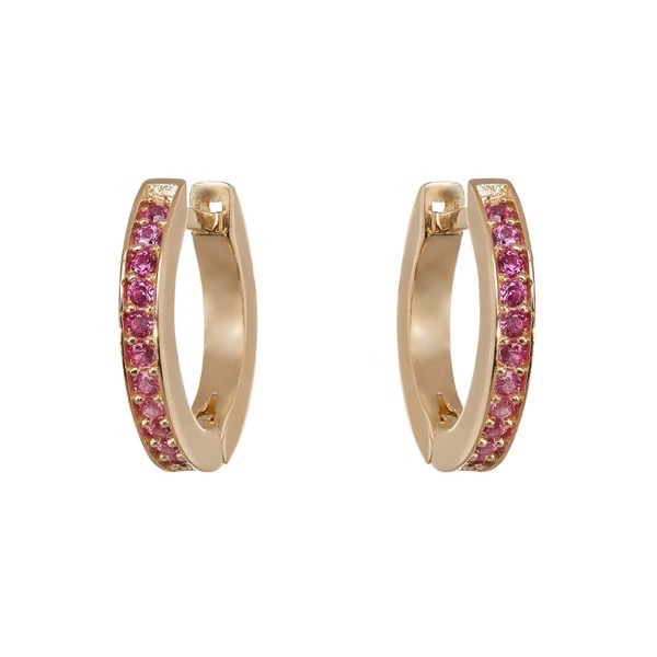 philippa-herbert-hoop-earrings-9kt-yellow-gold-pink-sapphire