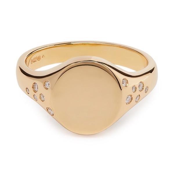 philippa-herbert-signet-ring-diamond-9kt-yellow-gold-unengraved