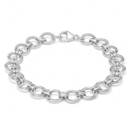 Silver Bracelets Chains