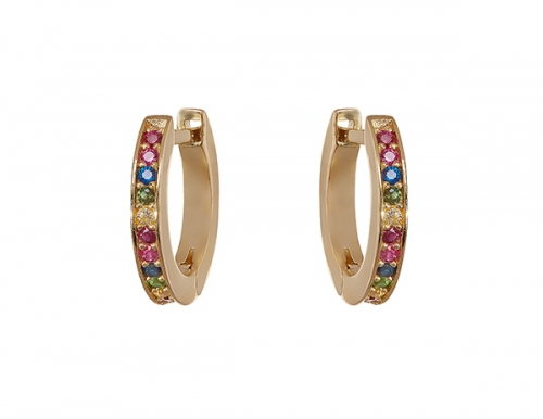 Philippa-Herbert-Alexandra-Felstead-Hoop-Earrings-Rainbow