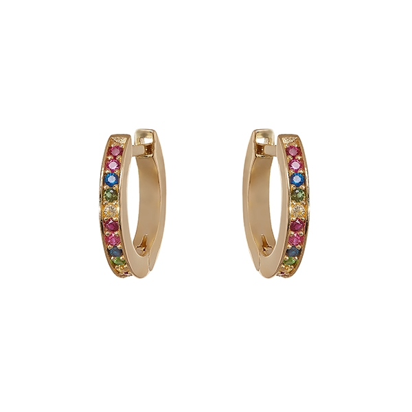 Philippa-Herbert-Alexandra-Felstead-Hoop-Earrings-Rainbow