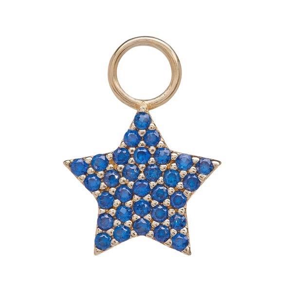 philippa-herbert-earring-drop-chubby-star-9kt-yellow-gold-blue-sapphire