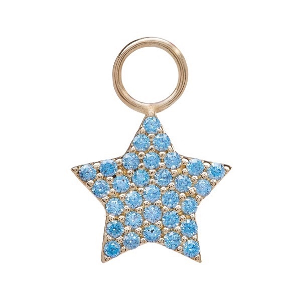 philippa-herbert-earring-drop-chubby-star-9kt-yellow-gold-blue-topaz