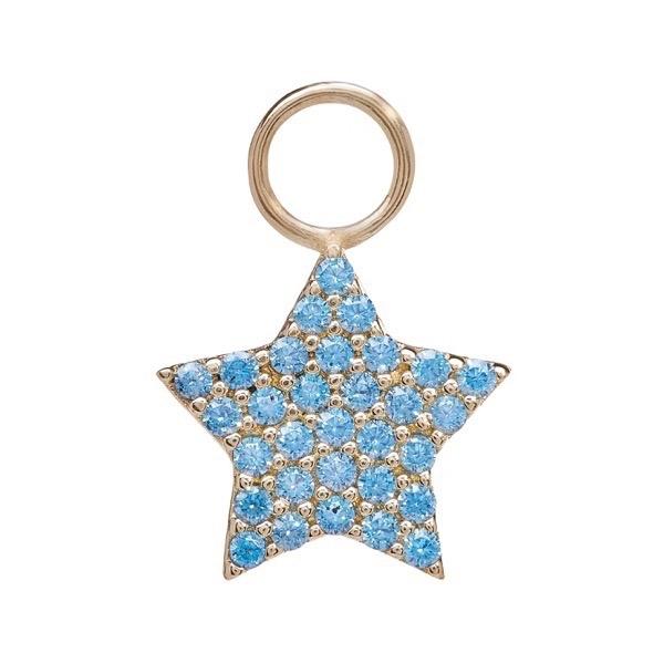 philippa-herbert-earring-drop-chubby-star-9kt-yellow-gold-blue-topaz