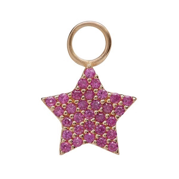 philippa-herbert-earring-drop-chubby-star-9kt-yellow-gold-pink-sapphire