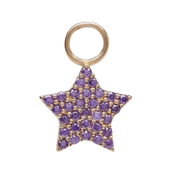 philippa-herbert-earring-drop-chubby-star-9kt-yellow-gold-purple-amethyst