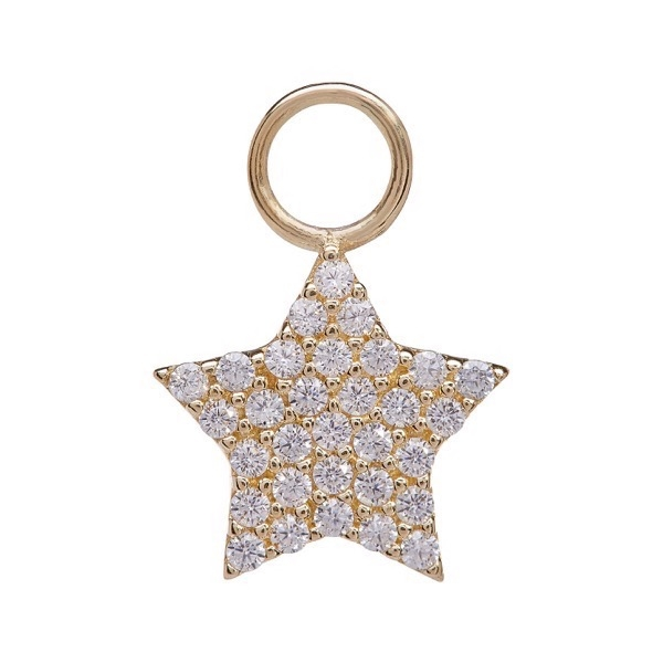 philippa-herbert-earring-drop-chubby-star-9kt-yellow-gold-white-sapphire copy