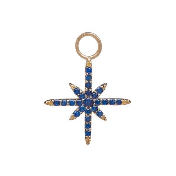 philippa-herbert-earring-drop-north-star-9kt-yellow-gold-blue-sapphire