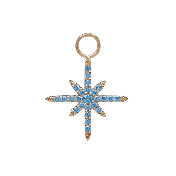 philippa-herbert-earring-drop-north-star-9kt-yellow-gold-blue-topaz