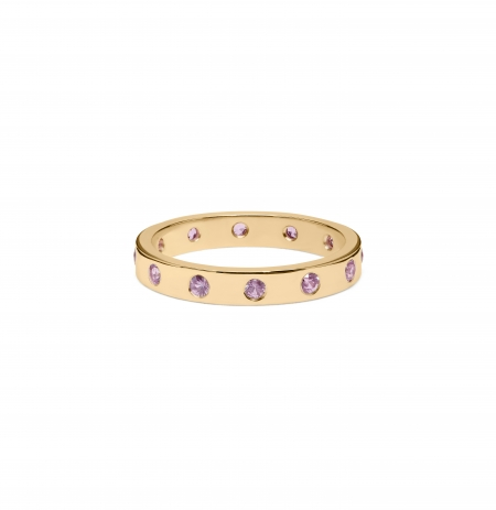 Gypsy Set Eternity Ring