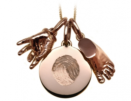 Keep Your Family Close with Our Fingerprint Engraved Fine Jewellery