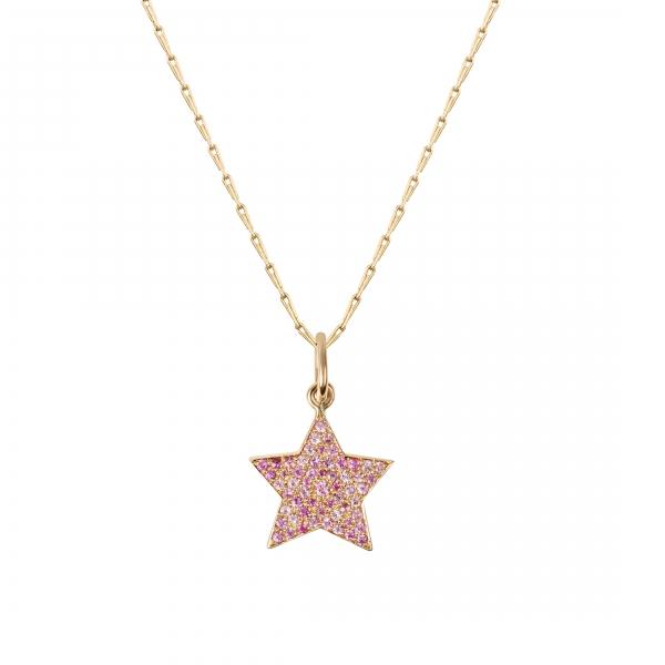 philippa-herbert-9ct-yellow-gold-pink-sapphires-pavet-set-star-charm-on-hayseed-chain