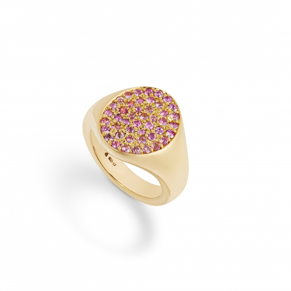 philippa-herbert-9ct-yellow-gold-and-pink-sapphire-signet-ring-side-view