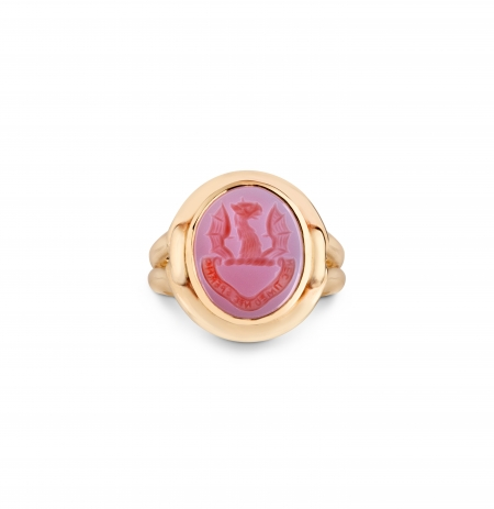 Knot signet Ring