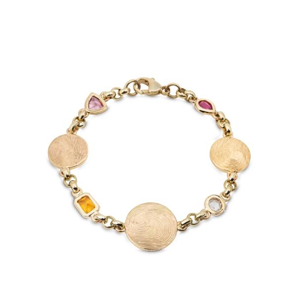 philippa-herbert-solid-9ct-gold-bespoke-birthstone-disc-bracelet2