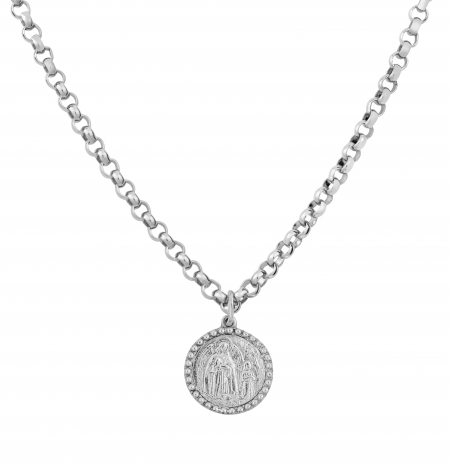 philippa-herbert-solid-sterling-silver-guardian-angel-charm-plain-on-chain