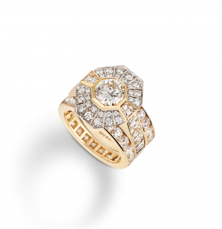Philippa-Herbert-Ltd-Bespoke-Engagement-Ring-18kt-Yellow-Gold-Platinum-Diamond-with-full-eternity-diamond-bands-1